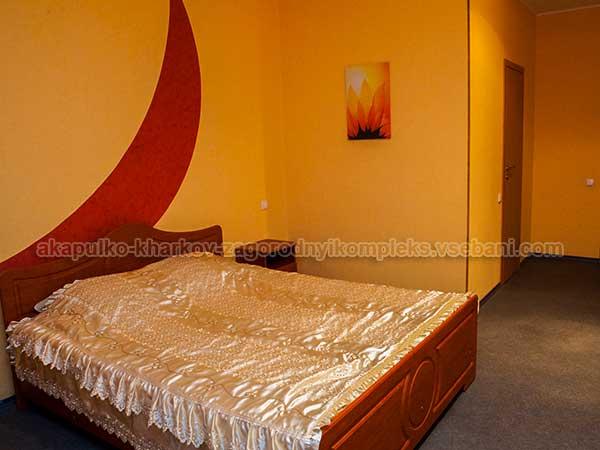 Баня на Толбухина - комната отдыха с кроватью